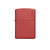 ZIPPO 233ZL RED MATTE WITH ZIPPO LOGO - Refillable Windproof Lighter