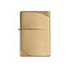 ZIPPO 270 HIGH POLISH BRASS VINTAGE WITH SLASHES - Refillable Windproof Lighter