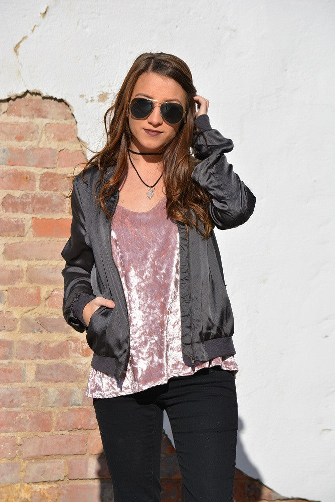 Trending: Crushed Velvet with a Twist