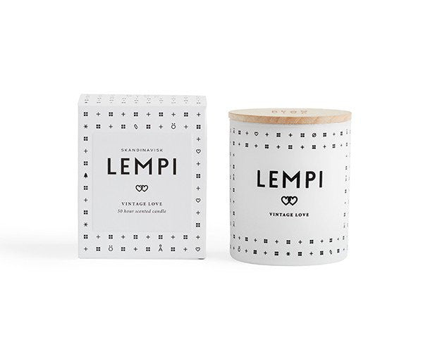 LEMPI SCENTED CANDLE (LOVE)