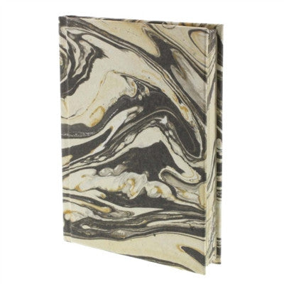 Marbleized Paper Journal - Grey