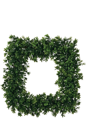 "19"" Boxwood Wreath Square"
