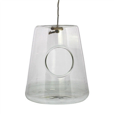 Hanging Glass Isosceles Terrariums