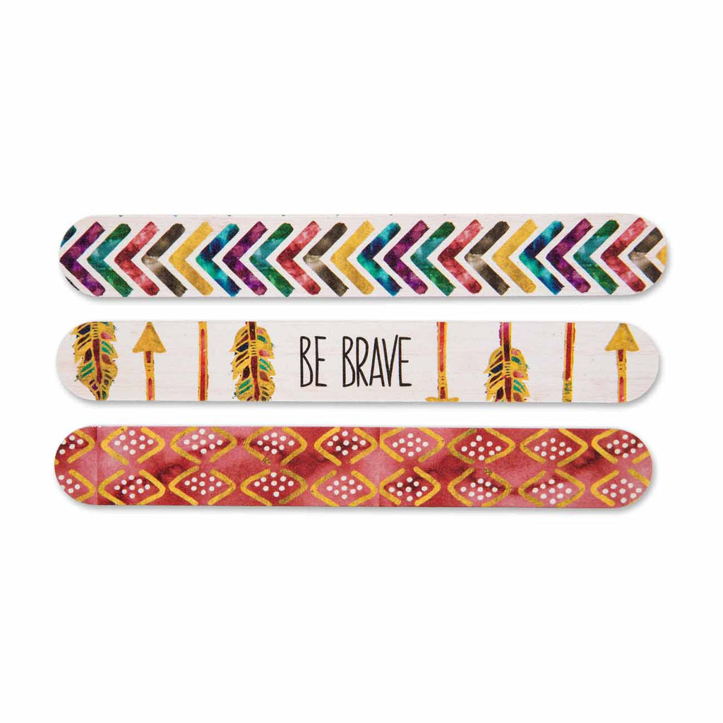 Be Brave Arrow Emery Board Set