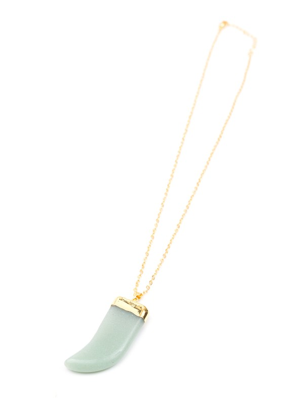 Seaglass Tooth Necklace