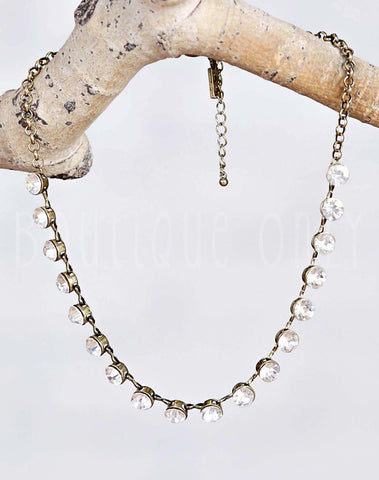 TMP Brulee  Necklace