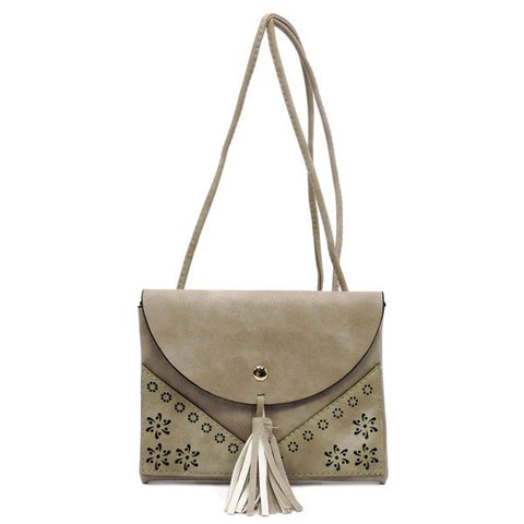 Gray Crossbody