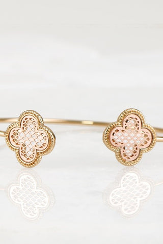 Bangle Bracelet - Gold/Rose Gold