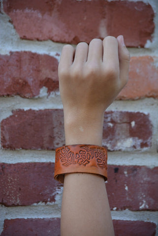 """Wanderer Leather Cuff Collection"""