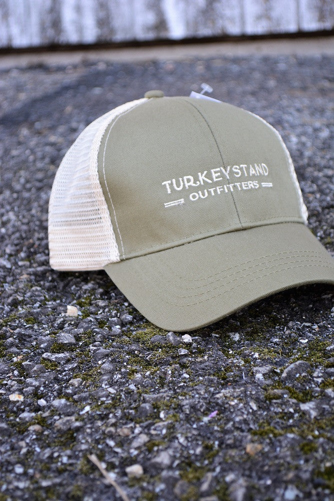Turkeystand Outfitters: Trucker Hat Green