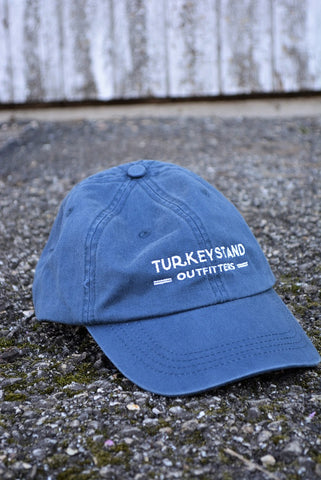 Turkeystand Outfitters: Navy Logo Cap