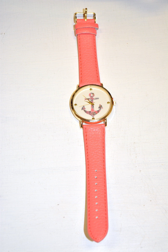Hope Floats Watch in Coral