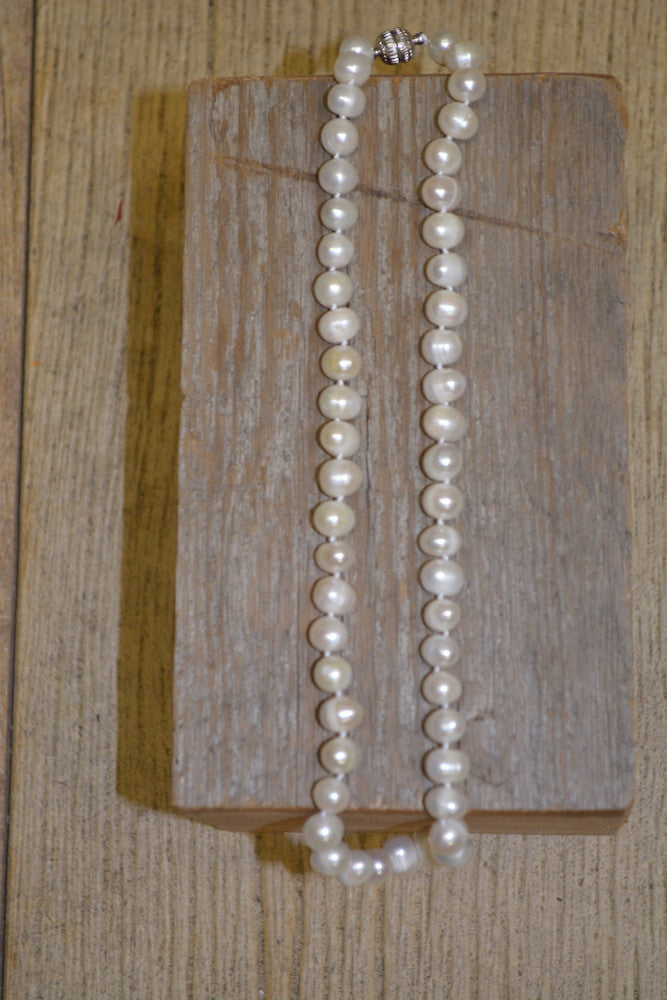 The Muddy Pearl Necklace Collection