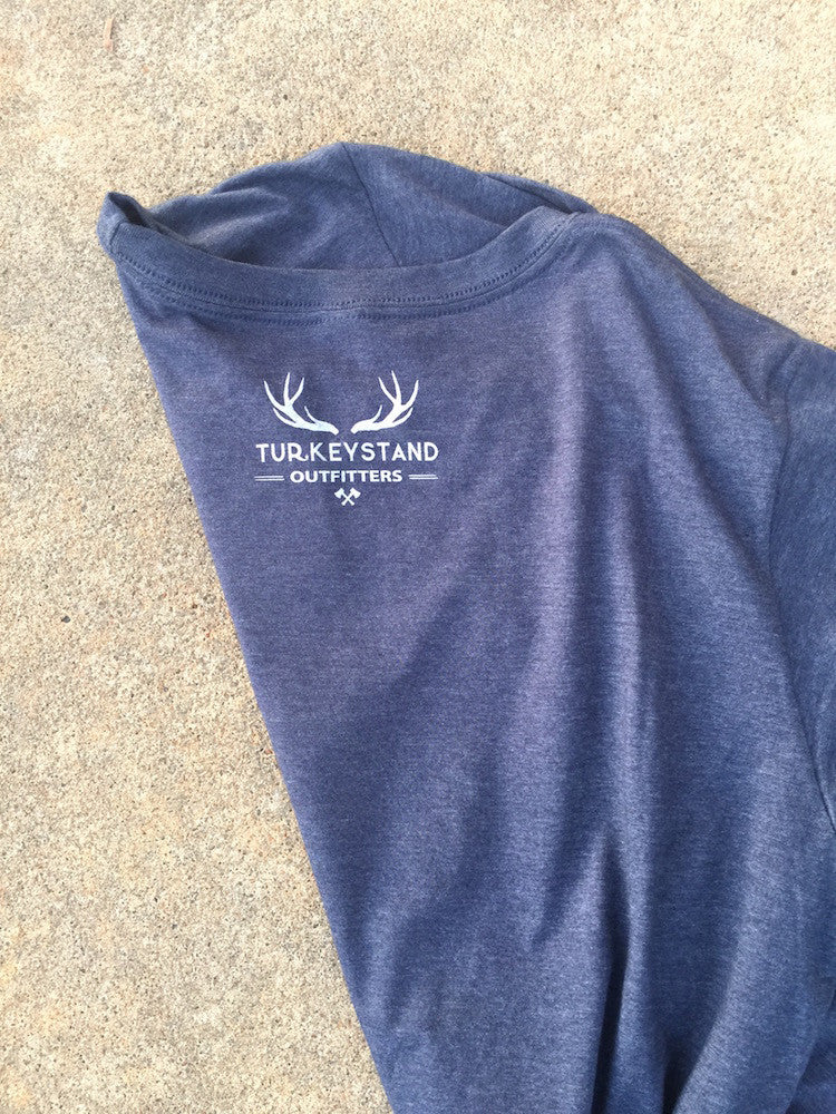 Turkeystand Outfitters: Ol'Truck Heather Navy