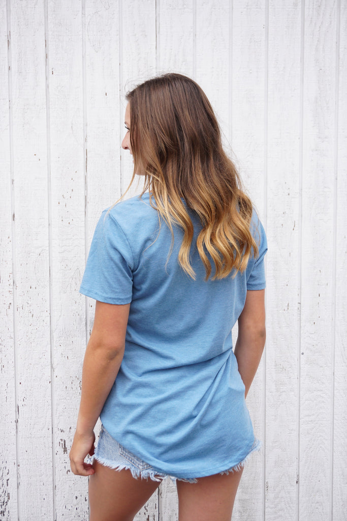 The Pocket Tee - Parisian Blue