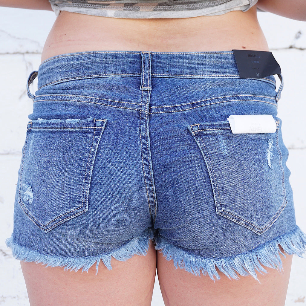 Glam Show Jean Shorts