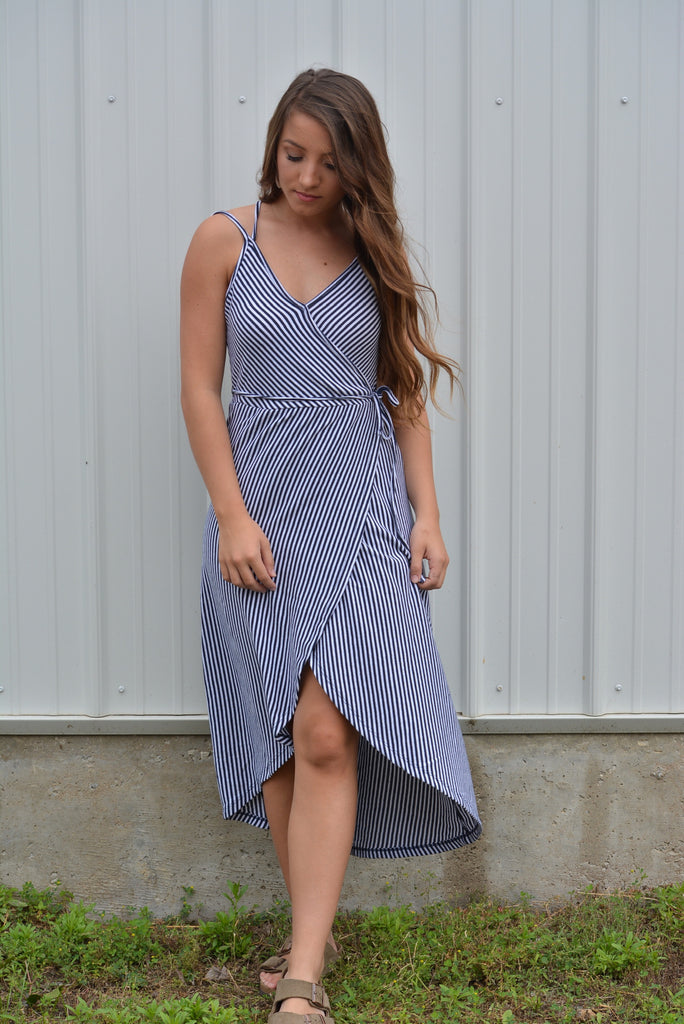 The Capri Wrap Dress