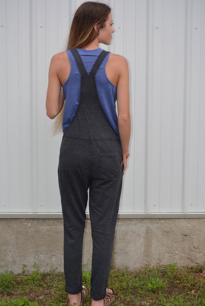 The Fench Terry Overalls