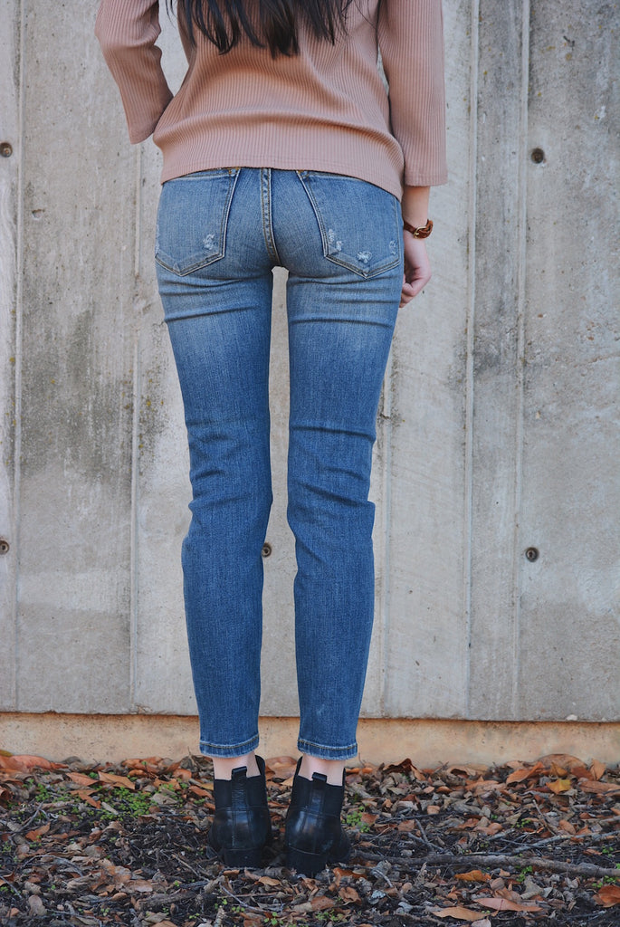 Lewiston Distress Skinny