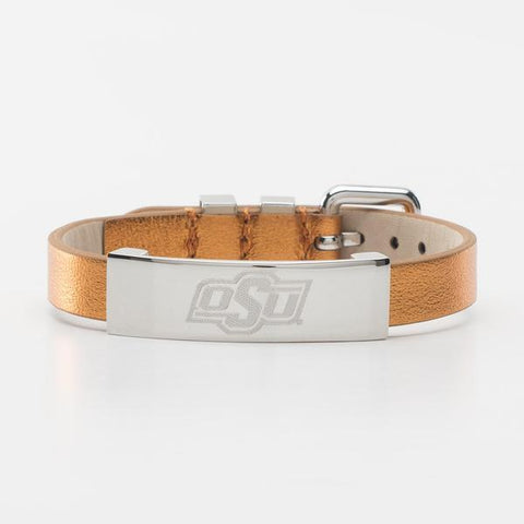 Betsy Metallic Orange OSU - Silver