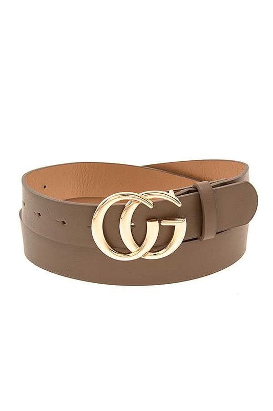 The Eba Designer Inspired Beige Belt