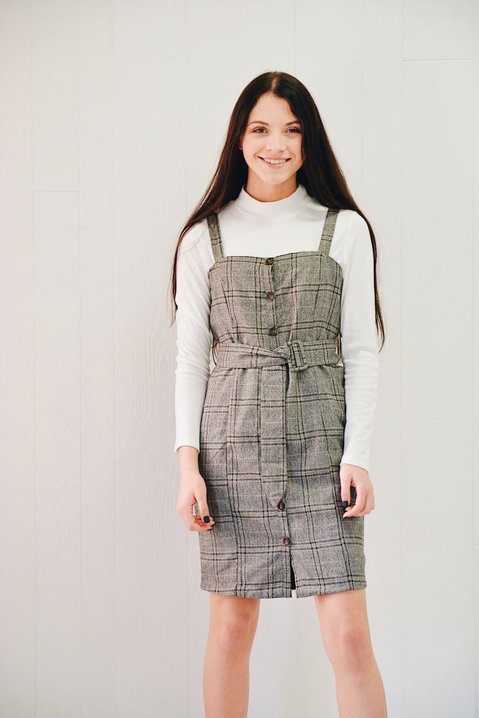 Molly Uptown Plaid Dress