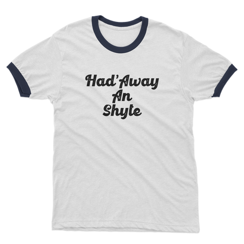Had'Away Adult Ringer T-Shirt