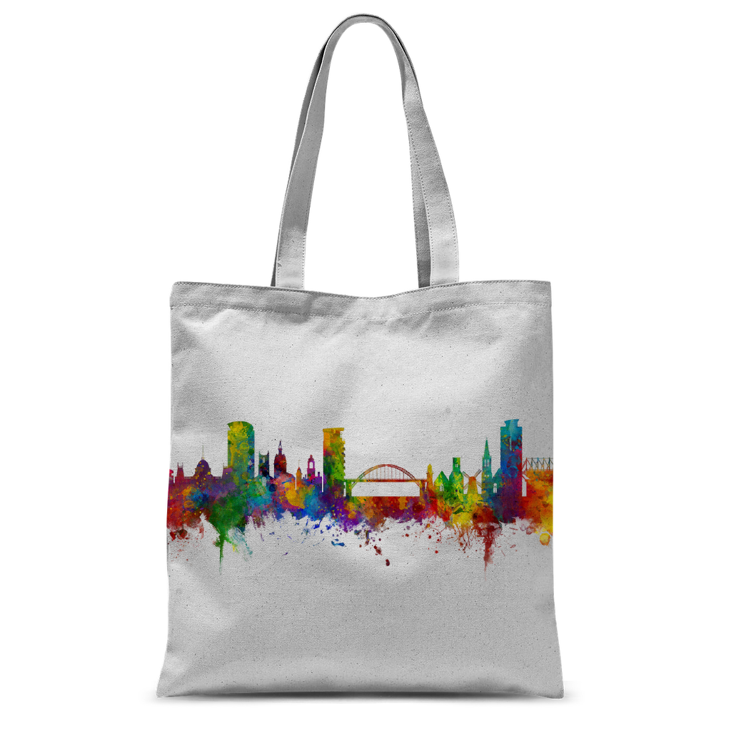 Cityscape Colour Splash Tote Bag