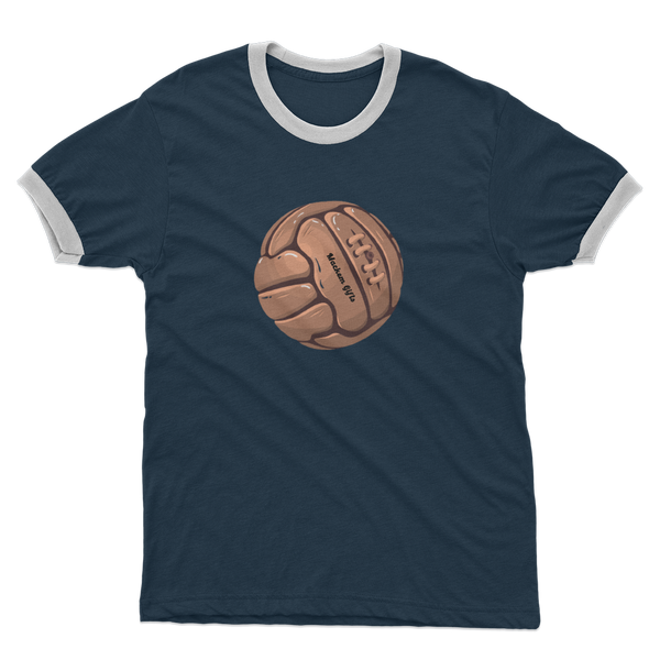 Footy Adult Ringer T-Shirt