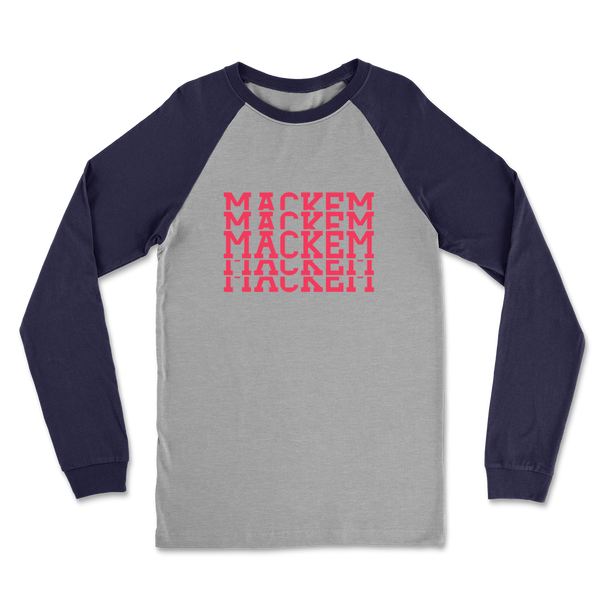 Mackem Tier Classic Raglan Long Sleeve Shirt
