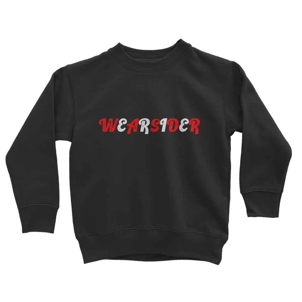 WEARSIDER RETRO Classic Kids Sweatshirt