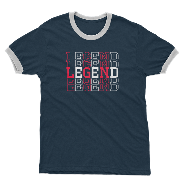 Legend Adult Ringer T-Shirt