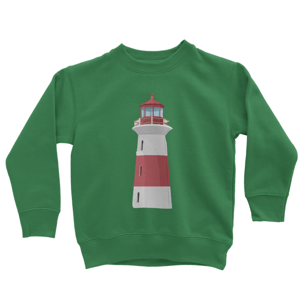 Lighthouse Classic Kids Sweatshirt