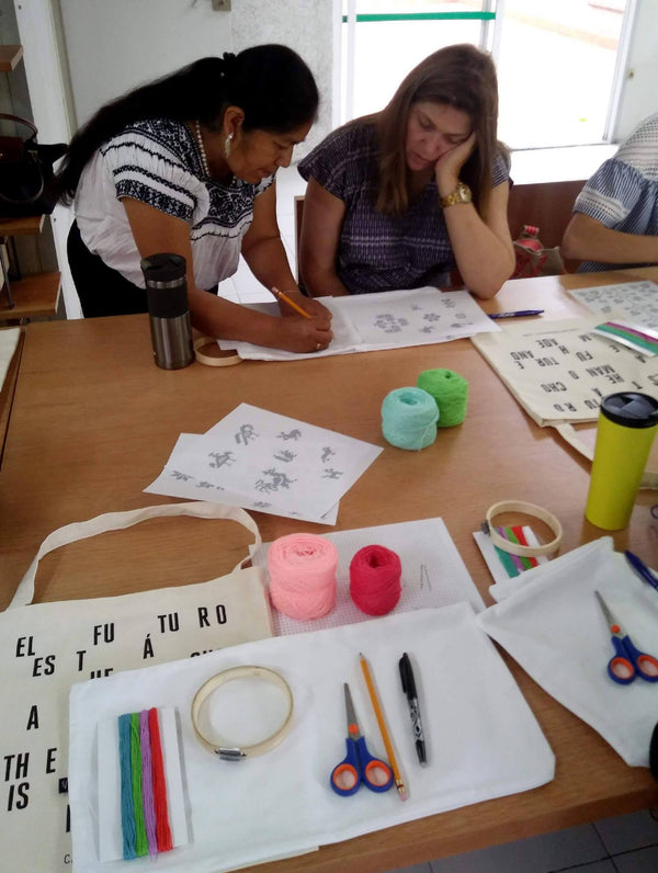 Nahuatl Emboidery Workshop