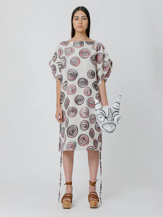 Printed Wind Dress