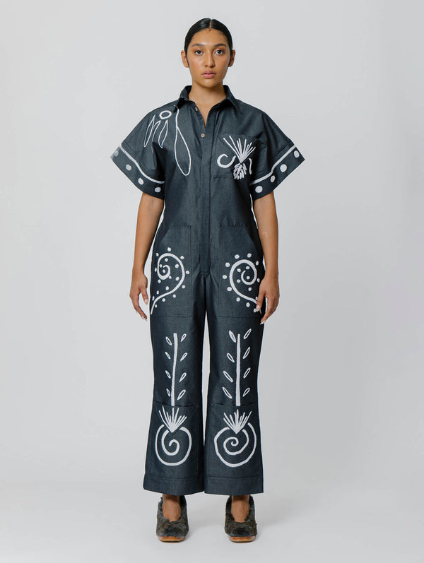 Embroidered Felipe Jumpsuit