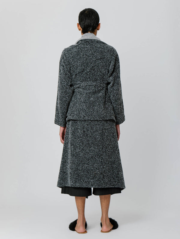 Buclé Cartonero Coat