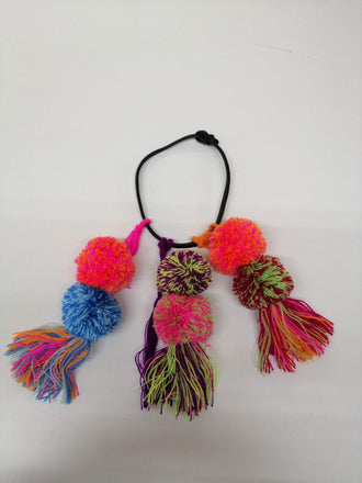 Pompon Necklace
