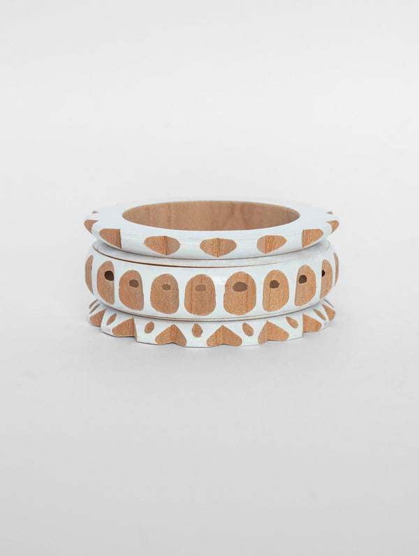Large Molinillo Bangle