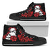 Rose Skull High Top Shoes