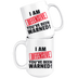 I am Offensive You've been Warned Mug