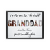 Granddad Framed Canvas Wraps