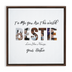 Bestie Framed Canvas Wraps