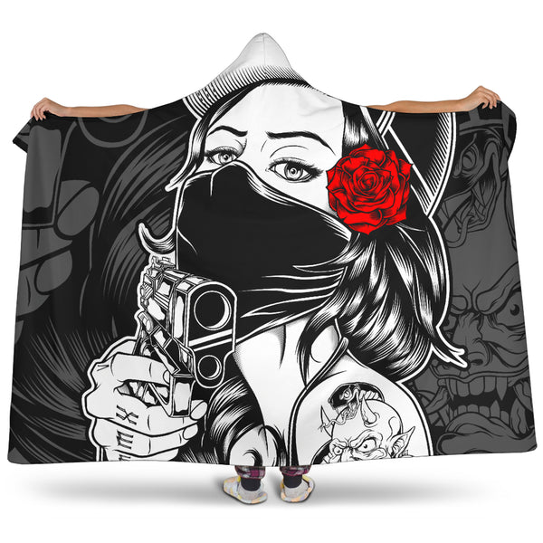 Gangsta Series Hooded Blanket