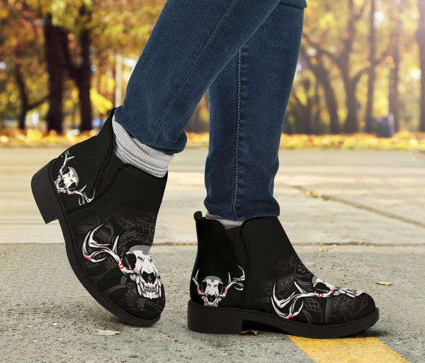 Skull Series Fashion Boots