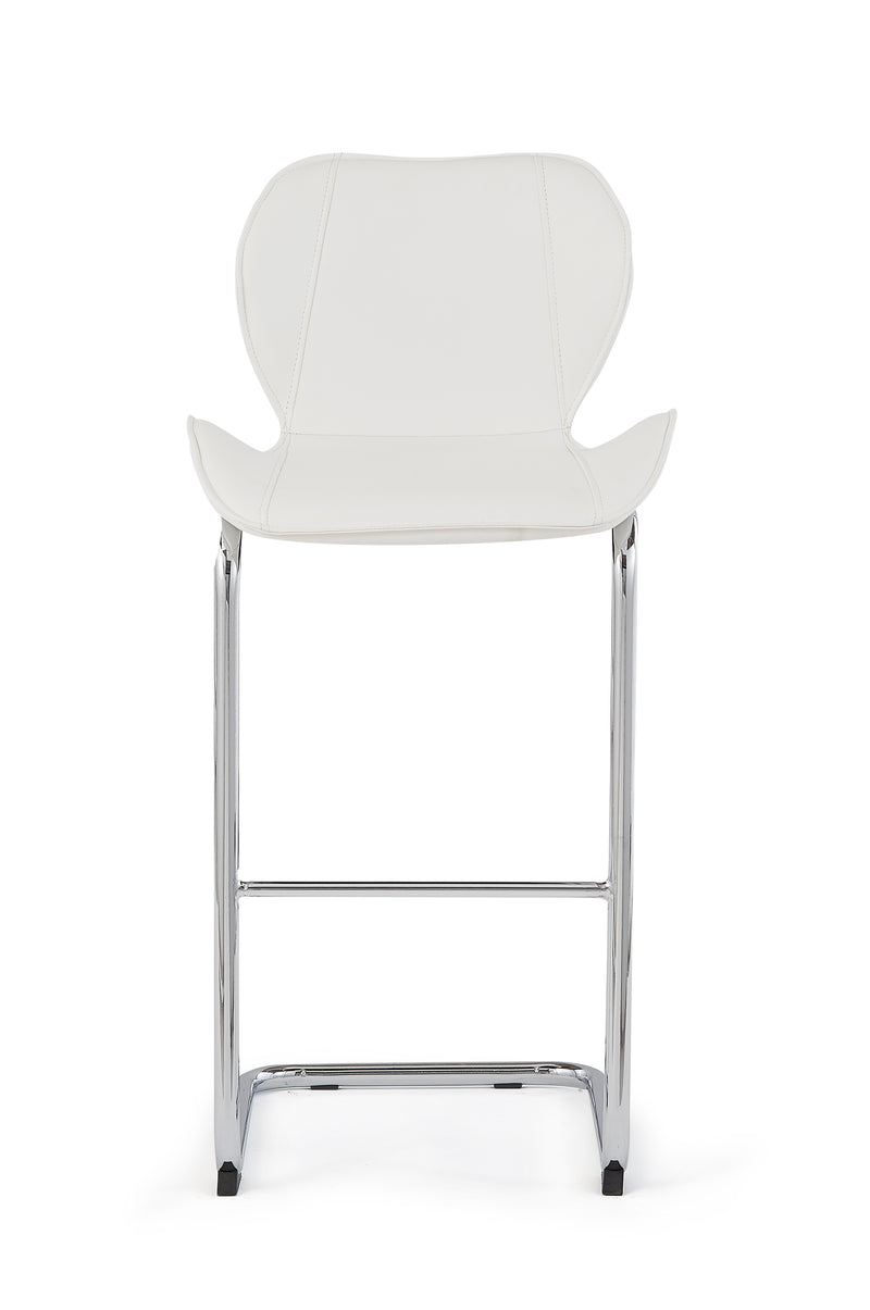 White Set Of 4 Barstools D1446BS - WH image