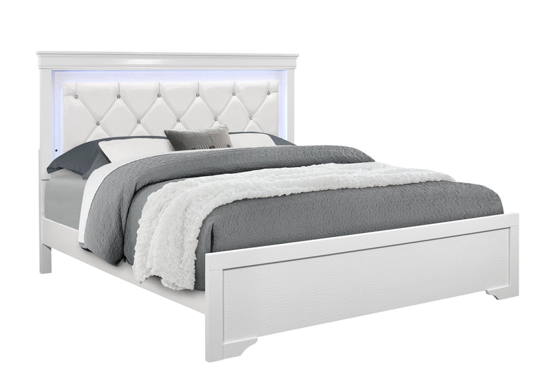 Pompei Metallic Full Bed image