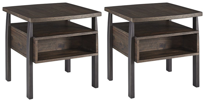 Vailbry Signature Design 2-Piece End Table Set image