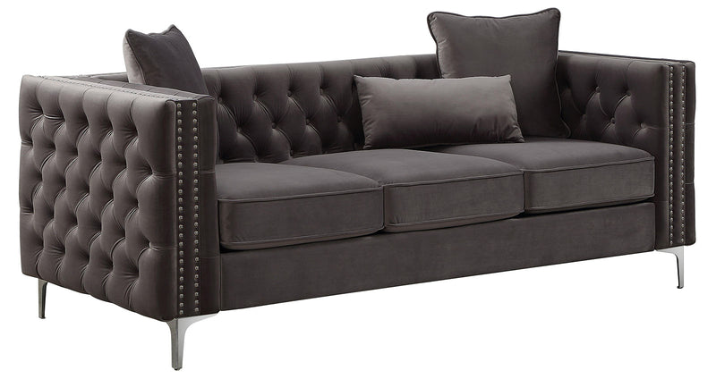 Acme Furniture Gillian II Sofa in Dark Gray 53385 image