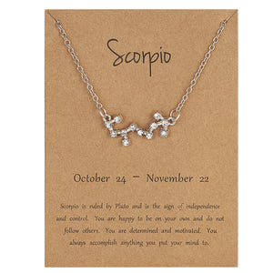 Zodiac Jewellery UK - Scorpio Necklace